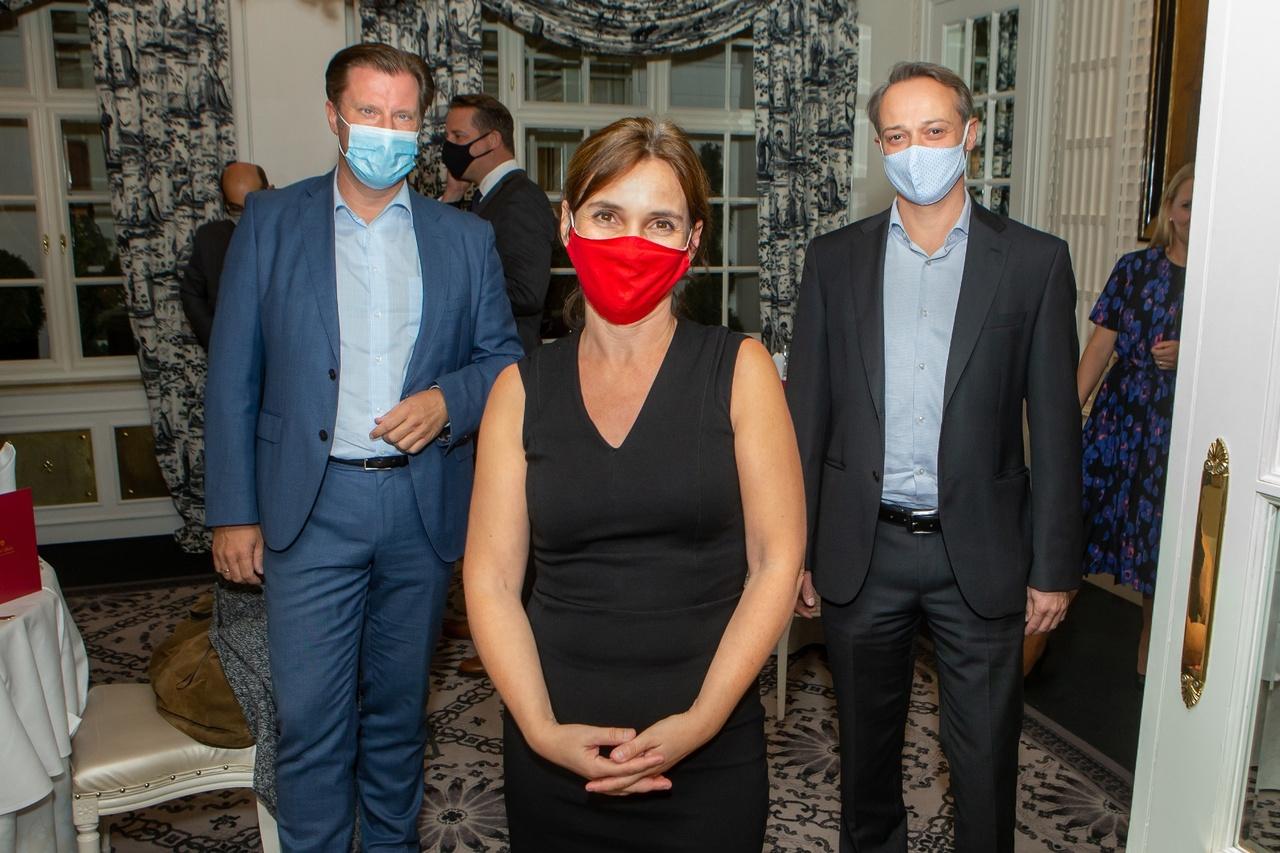 Roman Sartor, Susanne Mortimore, Richard Melbinger, © leadersnet.at/ C. Mikes