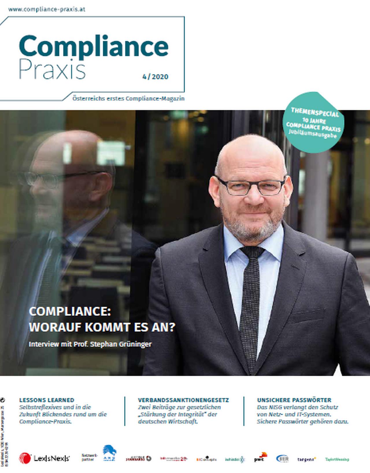 Compliance Praxis 4/20, © LexisNexis