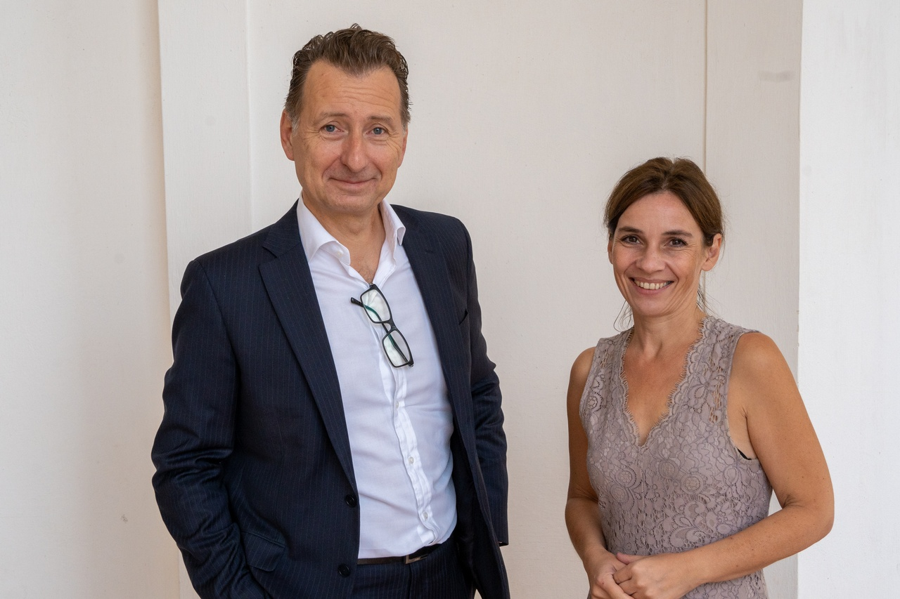 Susanne Mortimore mit Paul Kampusch, Director Content Management, LexisNexis, © LexisNexis/ Fotograf: Sascha Janak