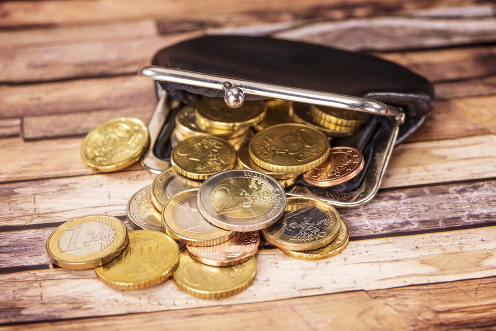 Münzen, Geld, Geldbörse, sparen, © Foto: Fotolia