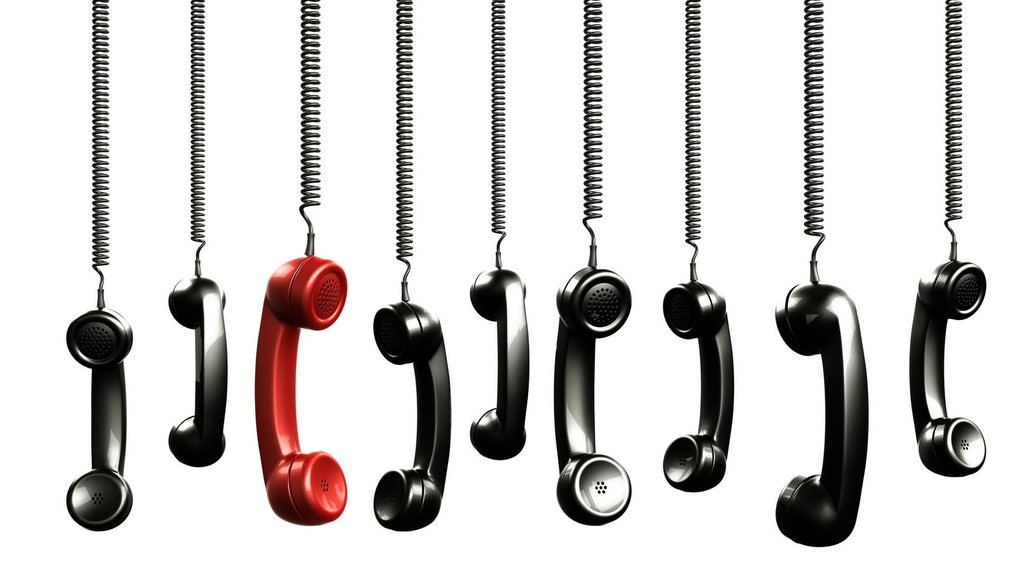 Telefonhörer, ©  zentilia - Fotolia.com