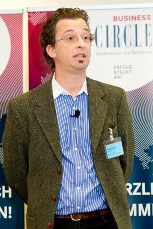 Keynote Speaker Dr. Leo Hemetsberger, © Foto: Anna Rauchenberger