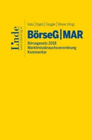 Cover BörseG, © Linde Verlag