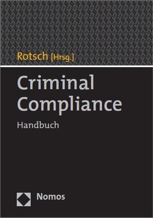 Cover Criminal Compliance, © Nomos
