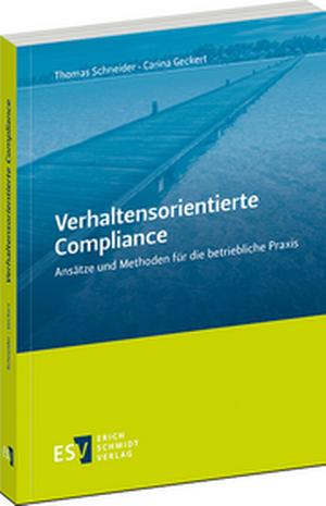 Cover: Verhaltensorientierte Compliance, © ESV