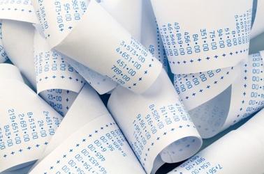 Rechnung Papierrolle Zahlen, © © Gina Sanders - Fotolia_580px