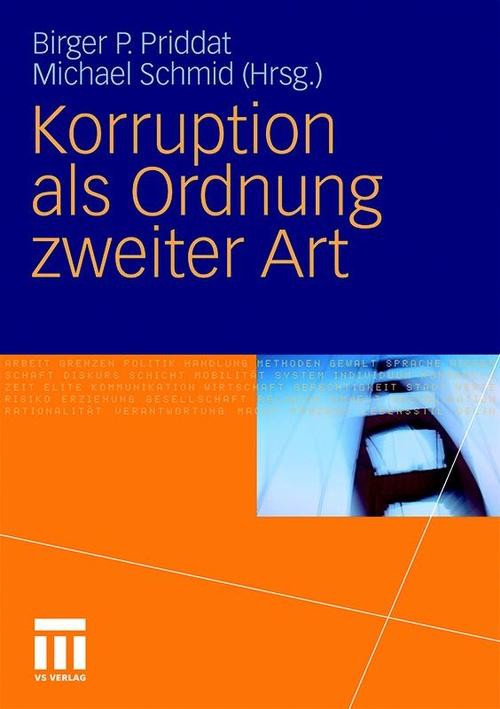 Korruption als Ordnung zweiter Art, © VS Verlag