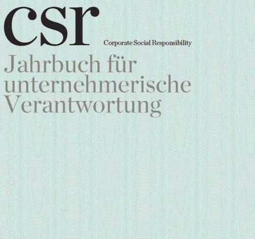 Jahrbuch für unternehmerische Verantwortung, © csr