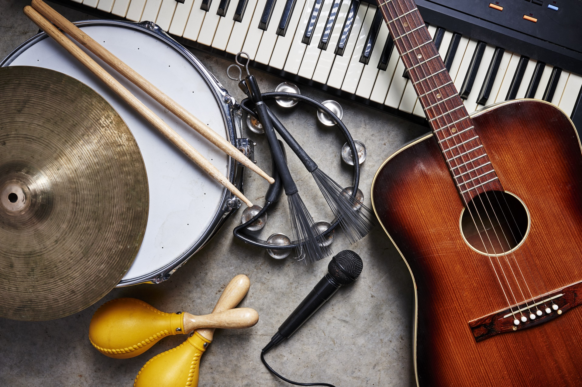 Musikinstrumente, © Adobe Stock